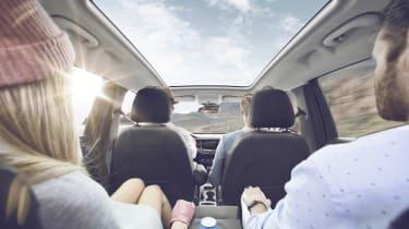 Vauxhall Crossland X - passengers