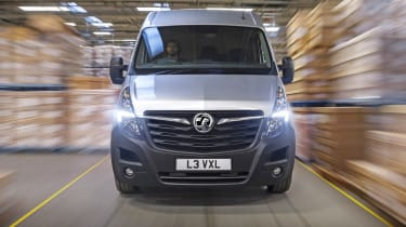 2019 Vauxhall Movano front