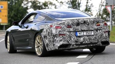 BMW 8 Series facelift - spyshot 6