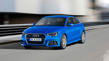 Audi A3 facelift - front tracking
