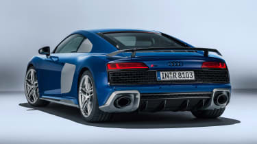 Audi R8 - studio rear static