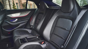 mercedes-amg gt 4-door interior rear seats