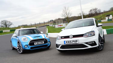 VW Polo GTI vs MINI Cooper S