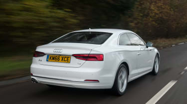 Audi A5 Coupe 2.0 TDI - rear