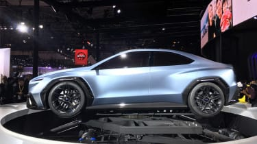 Subaru VIZIV Performance Concept - side