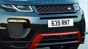 Range Rover Evoque Ember front detail