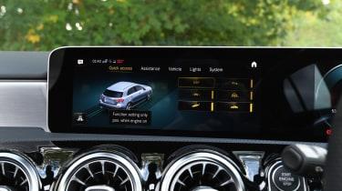 Mercedes A-Class - screen