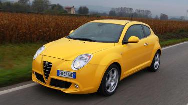 Alfa Romeo MiTo TCT tracking