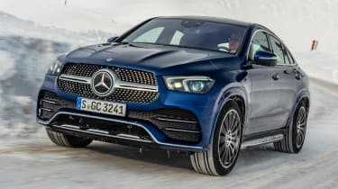 Mercedes GLC 400 d Coupe - front cornering
