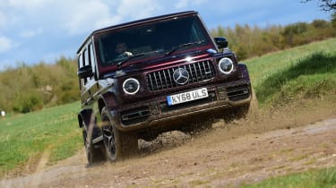 G 63 off road front