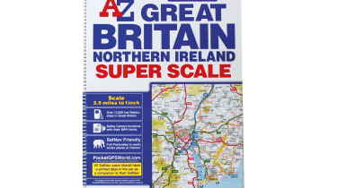 A-Z Great Britain and Northern Ireland Super Scale 2020