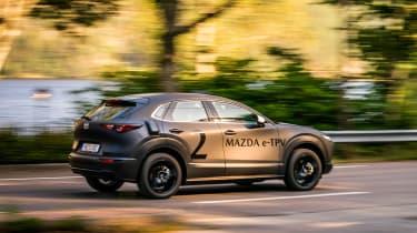 Mazda EV prototype - rear action
