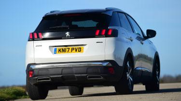 Peugeot 3008 - rear
