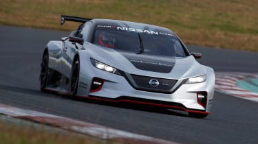 Nissan Leaf Nismo RC - front action