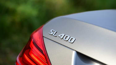 Mercedes SL 400 - badge