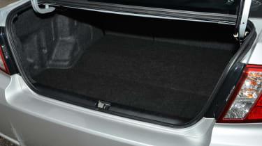 Subaru WRX STi 320R boot