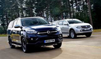 SsangYong Musso vs Mitsubishi L200 - head-to-head