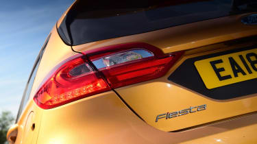 Ford Fiesta Active - rear light