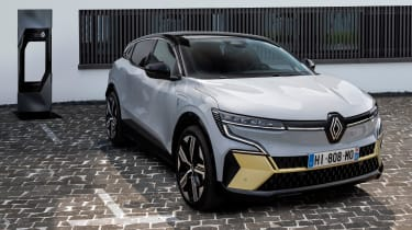 Renault Megane E-Tech Electric SUV - charging