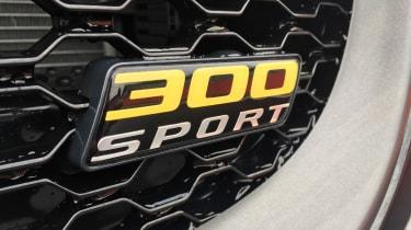Jaguar XE 300 Sport - badge