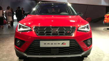 SEAT Arona - reveal full front
