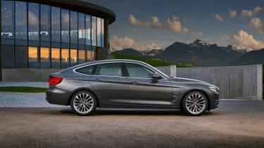 BMW 3 Series GT - side static
