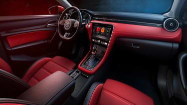 new MG6 interior