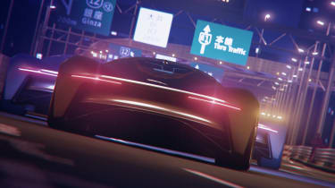 Jaguar Vision GT concept - full rear Tokyo