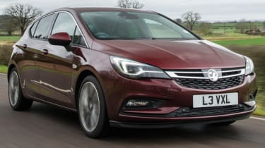 Vauxhall Astra new Ultimate trim front