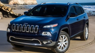 2014 Jeep Cherokee front static