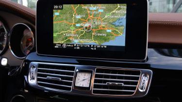 New Mercedes CLS 2014 sat nav