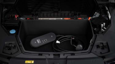 Audi e-tron frunk