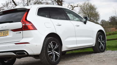 Volvo XC60 long-term test - rear