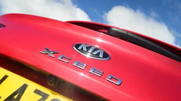 Kia XCeed - rear badge