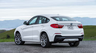 BMW X4 M40i - rear quarter
