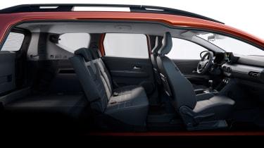 Dacia Jogger - seat configuration 2