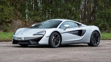 McLaren 540C - front static