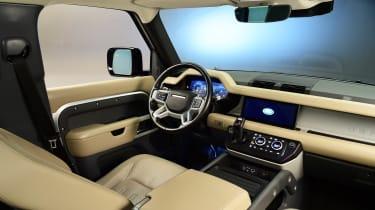 Land Rover Defender - studio dash