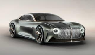 Bentley EXP 100 GT concept - front