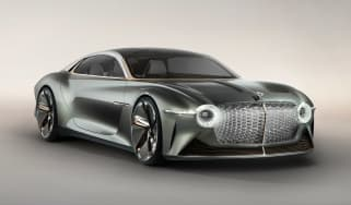 Bentley EXP 100 GT concept - front