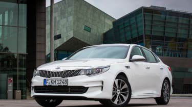 New Kia Optima 2015 static
