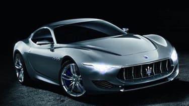 Maserati Alfieri concept - front