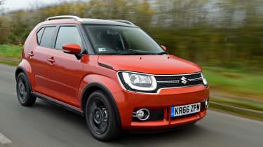 Suzuki Ignis 2016 - front tracking