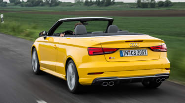 Audi S3 Cabriolet 2016 - rear tracking