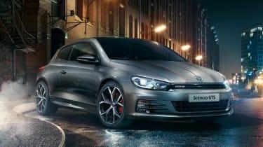Volkswagen Scirocco GTS front