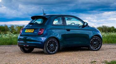 Fiat 500 - rear