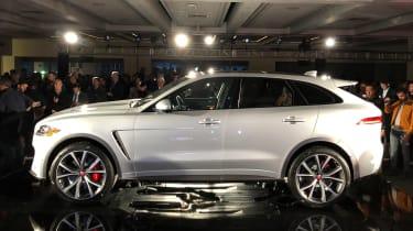 Jaguar F-Pace SVR - launch side