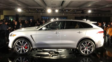 Jaguar F-Pace SVR - launch side