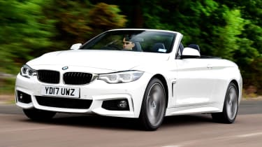 BMW 4 Series Convertible - best used convertibles
