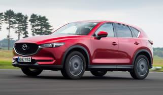 Mazda CX-5 SUV - front